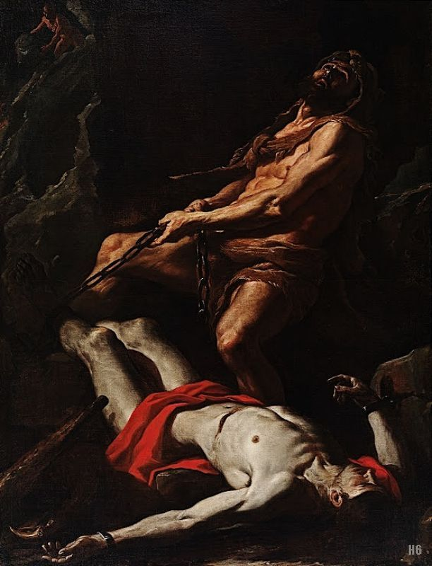 """""""... the Greek Hero slays the eagle and frees Prometheus from the eagle's torment..."""""""