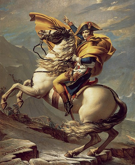 Having taken power in France during the 18 Brumaire on 9 November 1799, Napoleon was determined to return to Italy to reinforce the French troops in the country and retake the territory seized by the Austrians in the preceding years. In the spring of 1800 he led the Reserve Army across the Alps through the Great St. Bernard Pass.