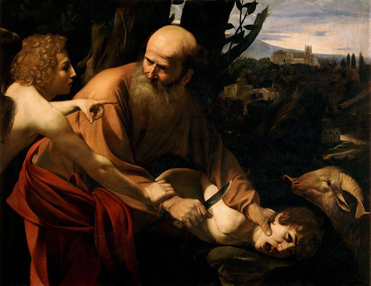 Sacrifice of Isaac, Caravaggio