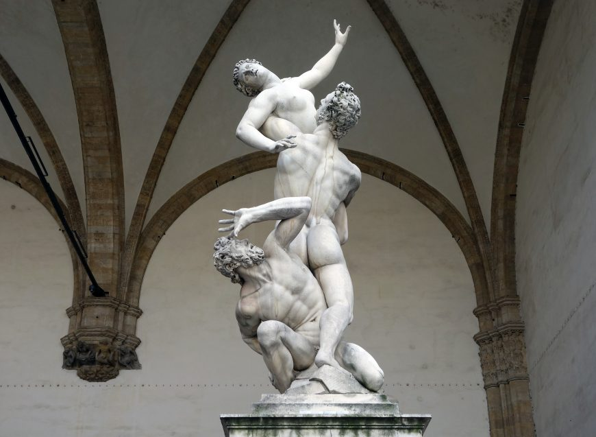 The rape of the Sabine Women was an incident from Roman mythology, in which the men of Rome committed a mass abduction of young women from the other cities in the region. It has been a frequent subject of artists, particularly during the Renaissance and post-Renaissance eras.