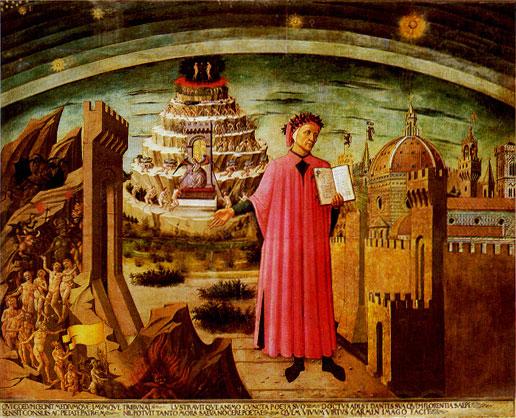 Divine Comedy, Michelino (fresco)