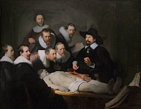 The Anatomy Lesson of Dr. Nicolaes Tulp, Rembrandt