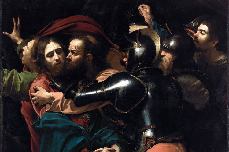 Taking of Christ, Caravaggio