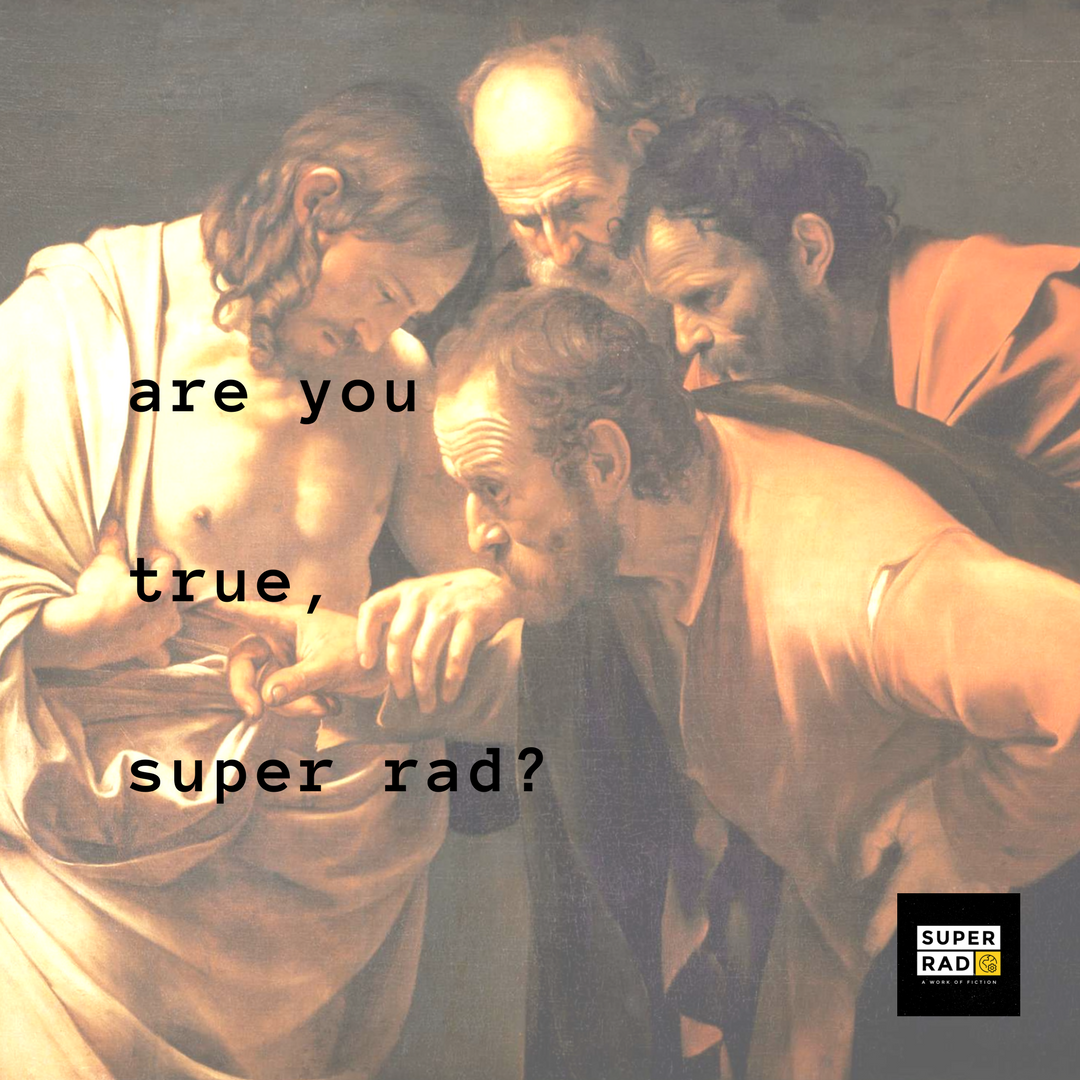 The Incredulity of Saint Thomas, Caravaggio