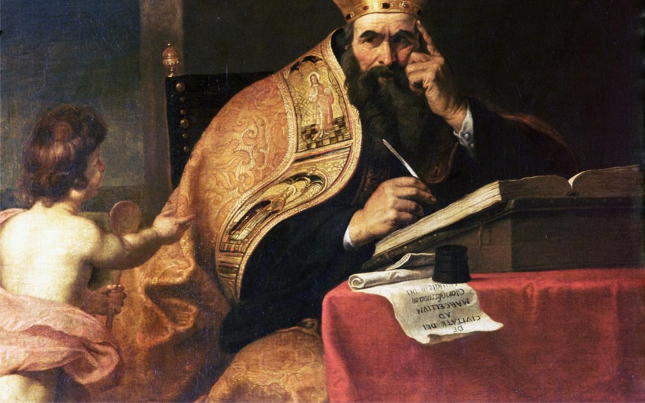 Augustine, Flemish, 17th century