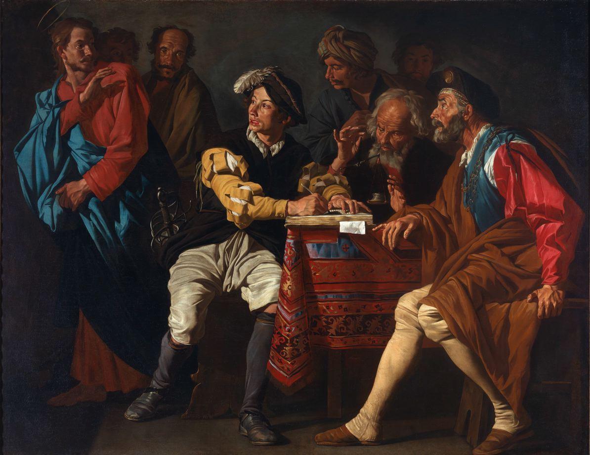 The Calling of Saint Matthew, Matthias Stom