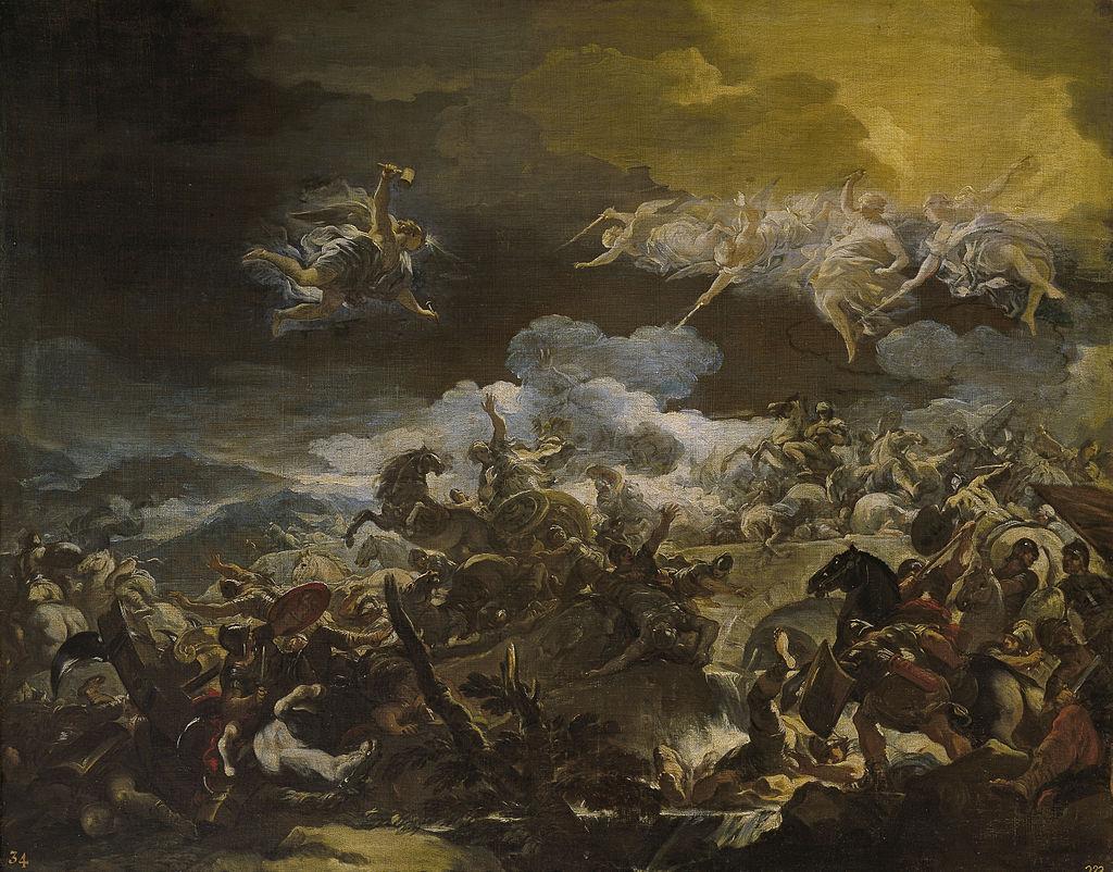 The Defeat of Sisera, Luca Giordano