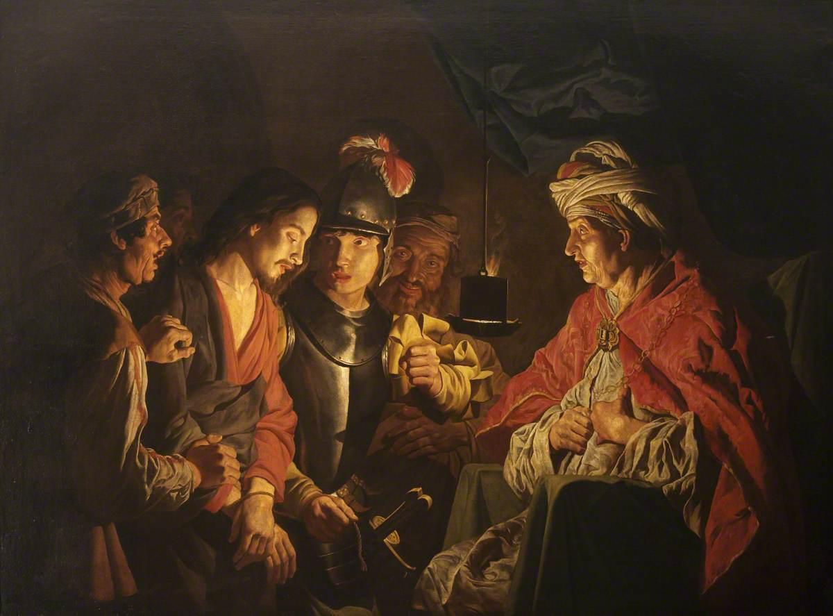 Christ Before Annas, Matthias Stomer
