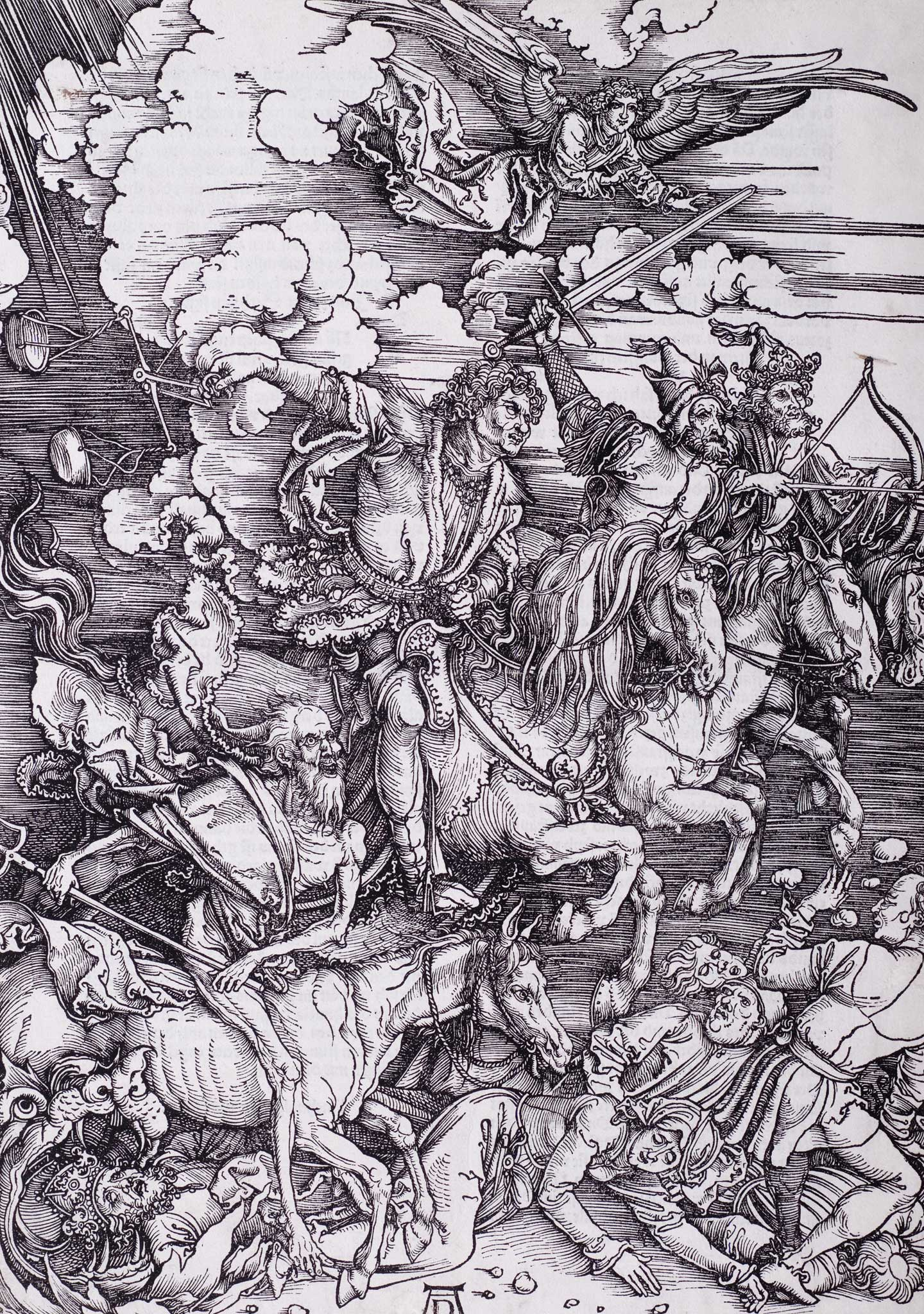The Four Horsemen of the Apocalypse, Albrecht Dürer
