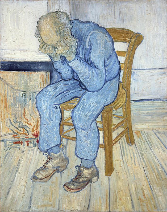 Old Man in Sorrow, Vincent van Gogh