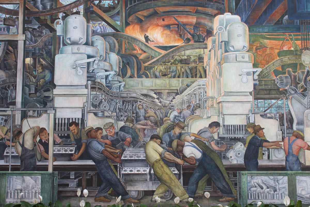 Detroit Industry Mural, Diego Rivera