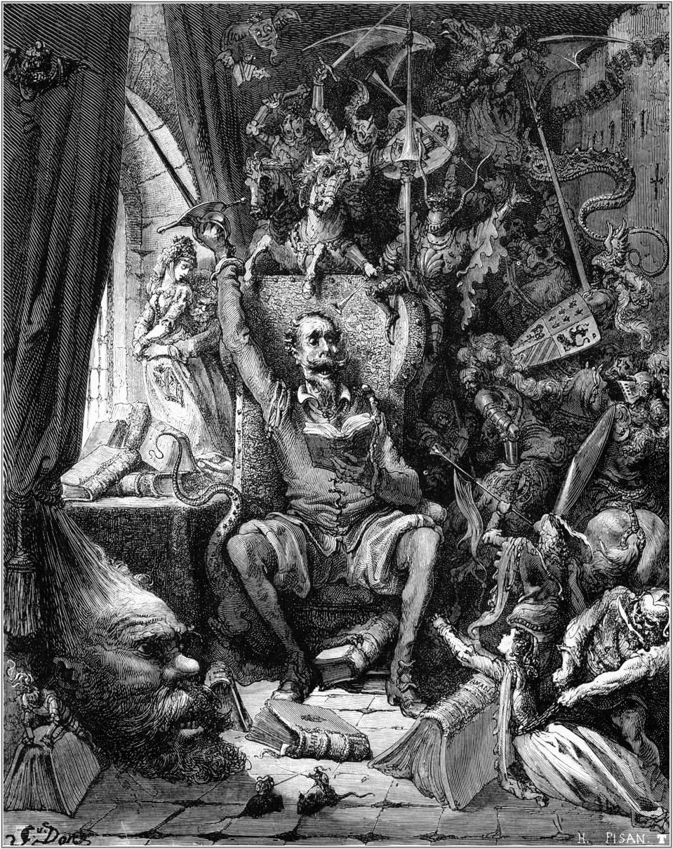 Don Quixote, Gustave Dore