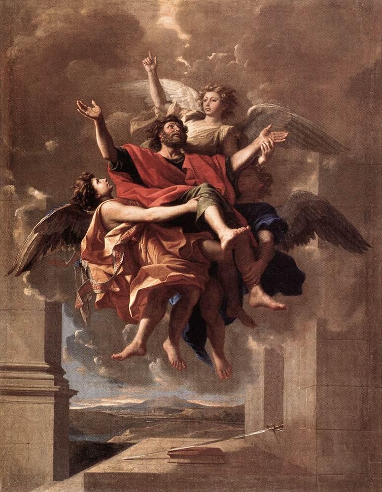 The Ecstasy of St Paul, Nicolas Poussin
