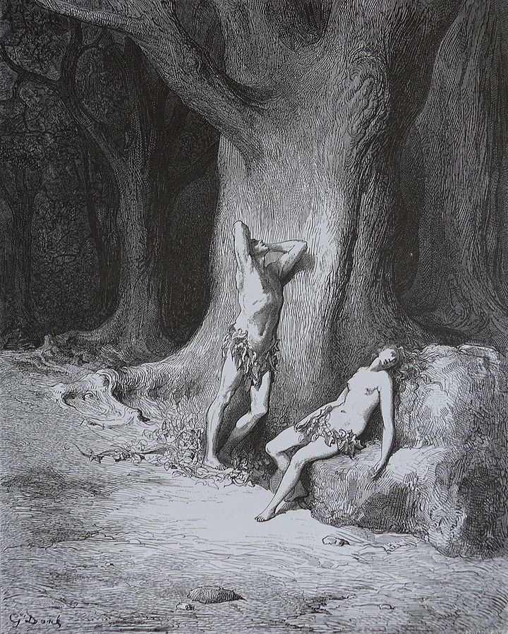 """Paradise Lost """"41"""", Gustave Dore"""