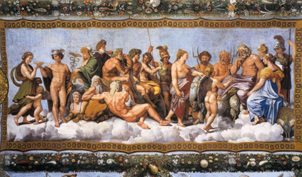 Psyche Received On Olympus, Raphael