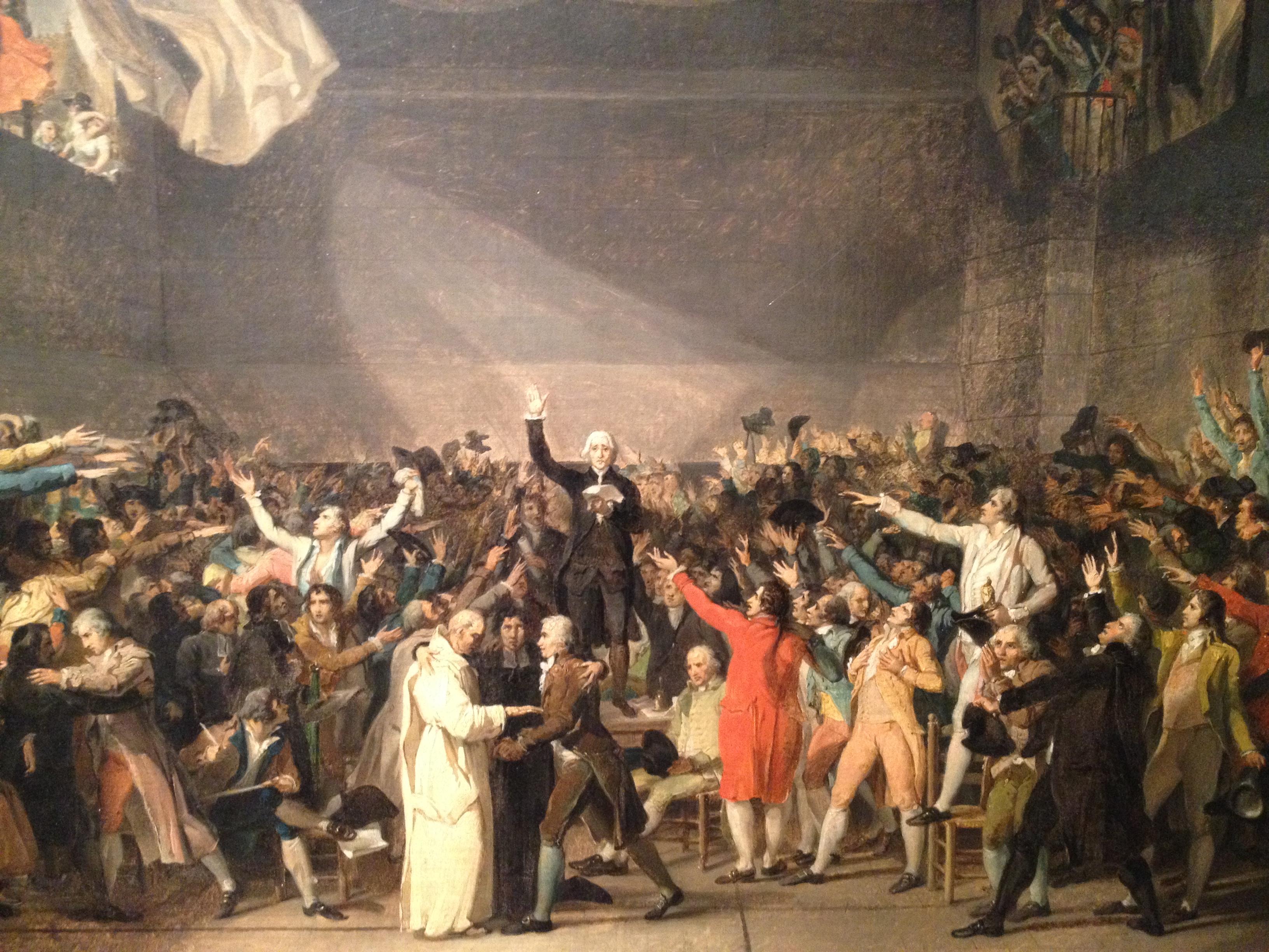 the Tennis Court Oath, Jacques-Louis David