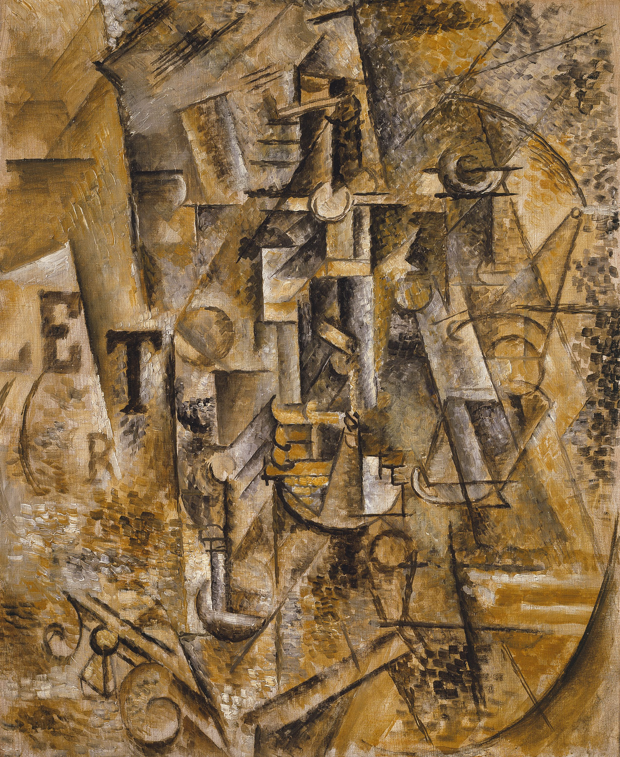 Still Life with a Bottle of Rum, Picasso