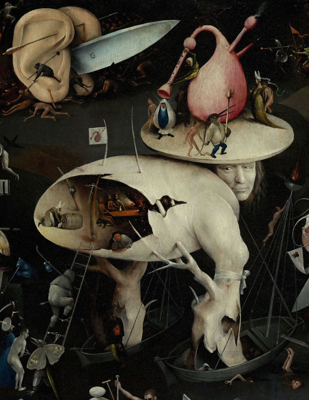 Garden of Earthly Delights (Detail), H Bosch