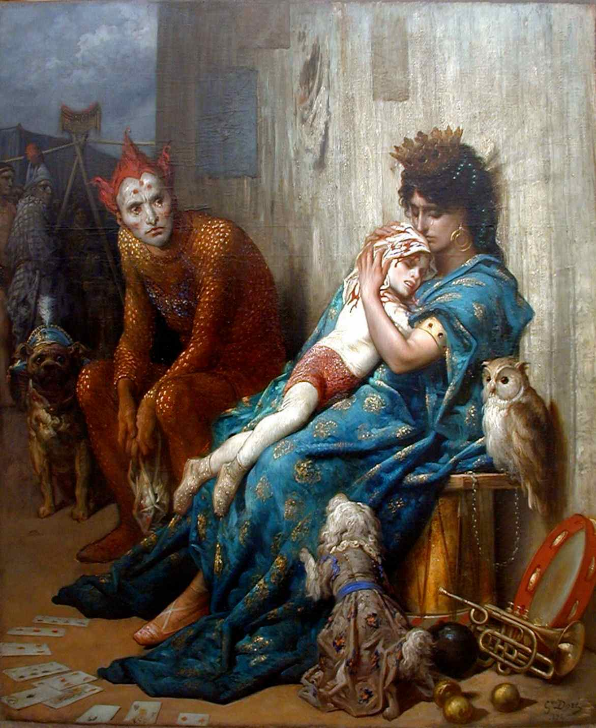 Les Saltimbanques (The Entertainers), Gustave Dore