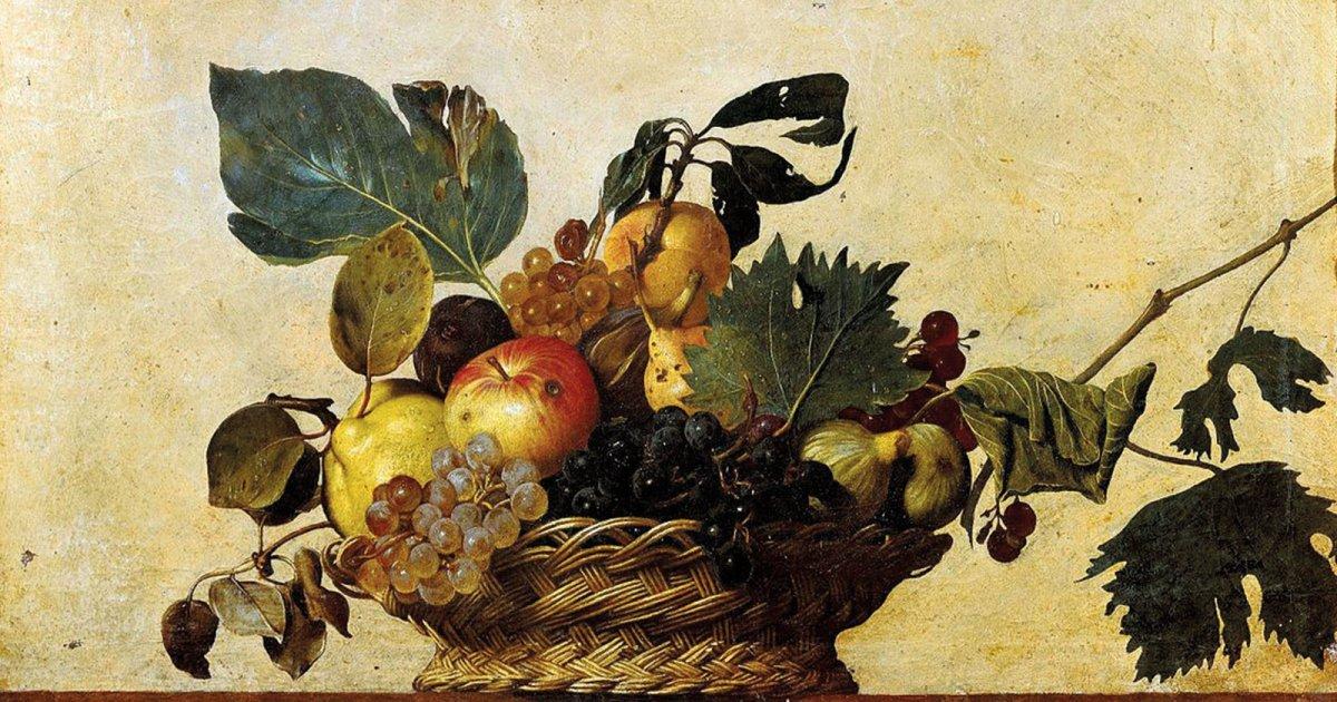 Basket of Fruit, Caravaggio