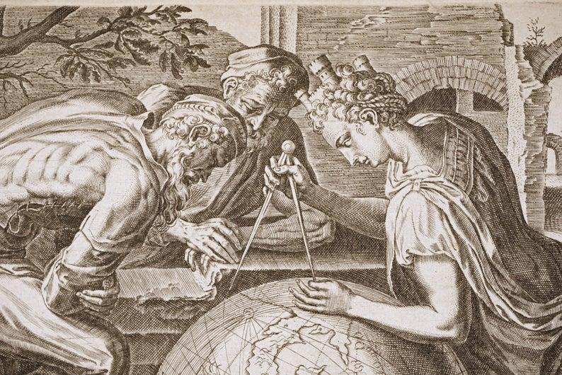 Geometria, Frans Floris