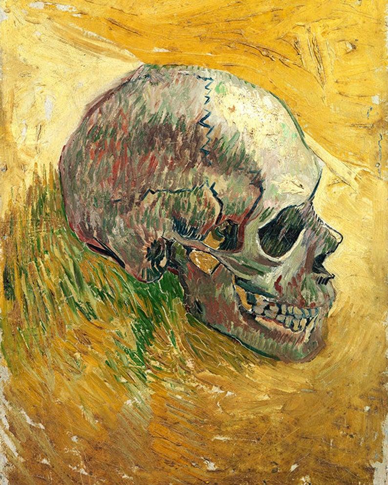 Skull, Van Gogh