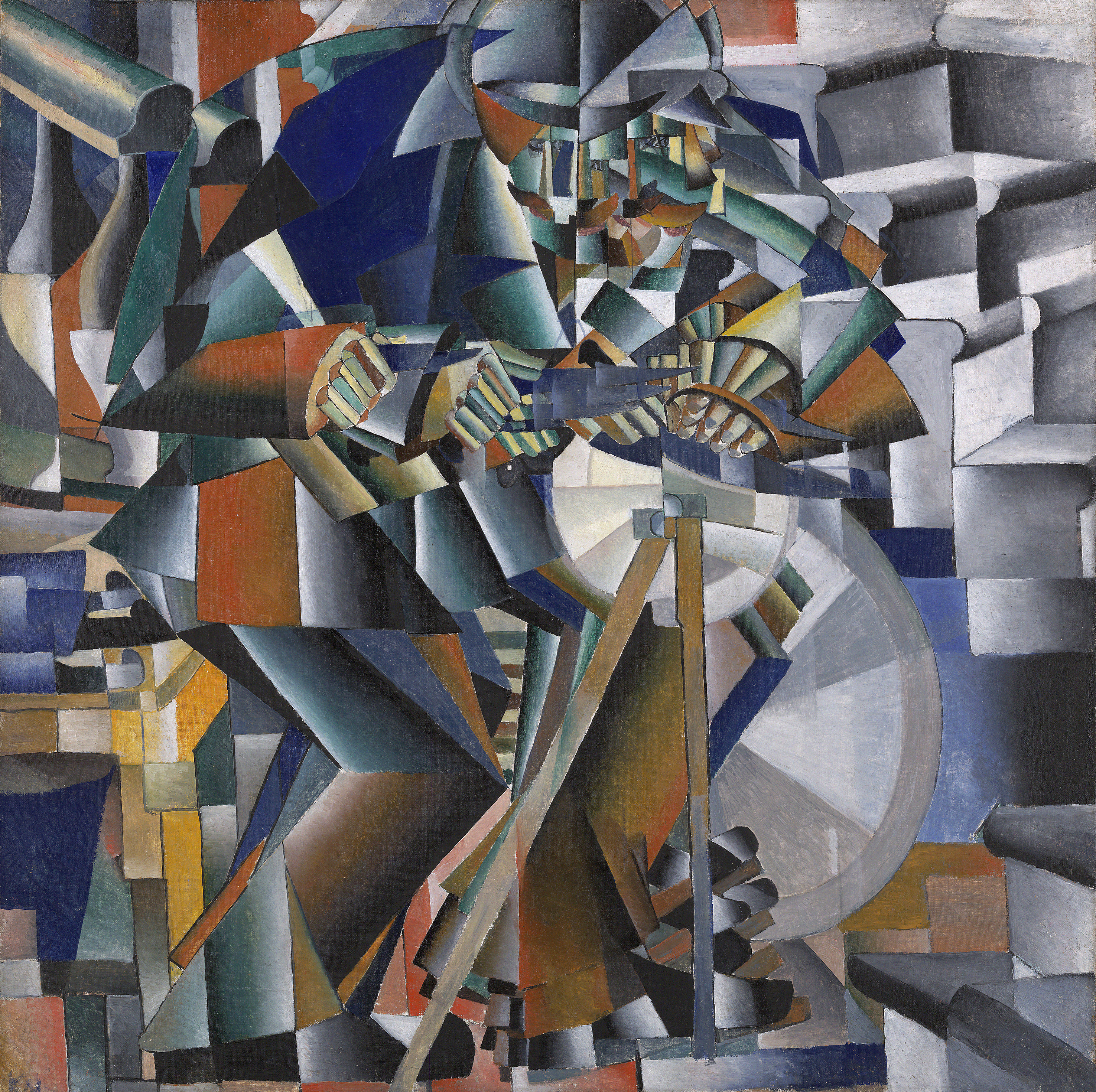 The Knife-Grinder, Kasimir Malevich-1