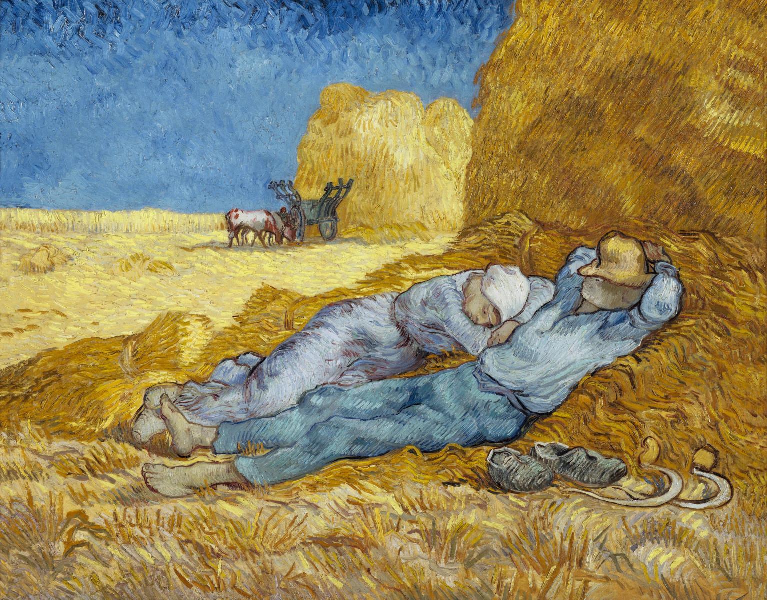 The Siesta (after Millet), Van Gogh