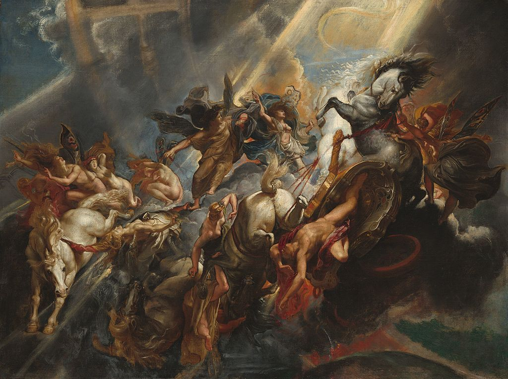The Fall of Phaeton, Rubens