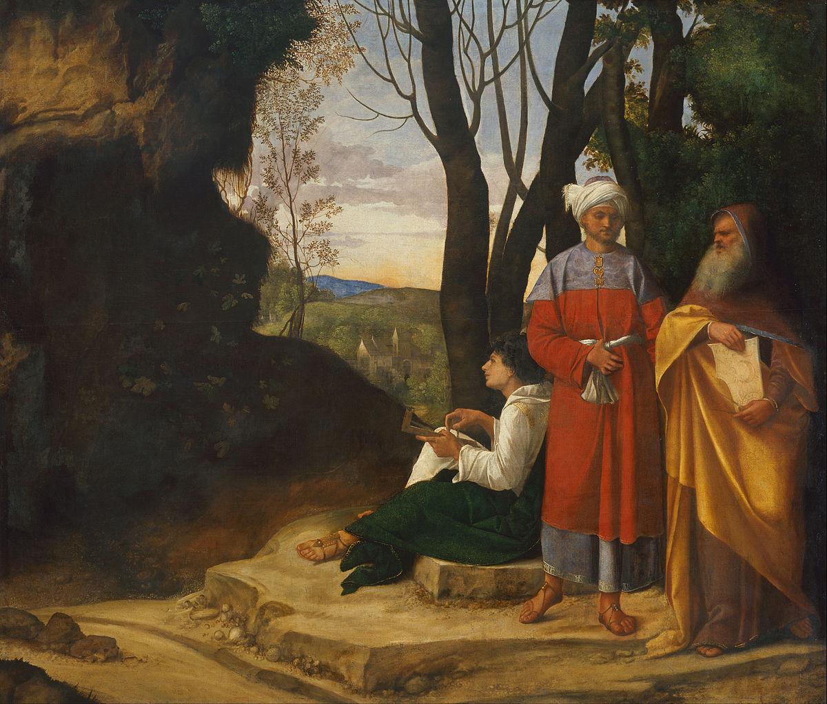 Three Philosophers, Giorgione