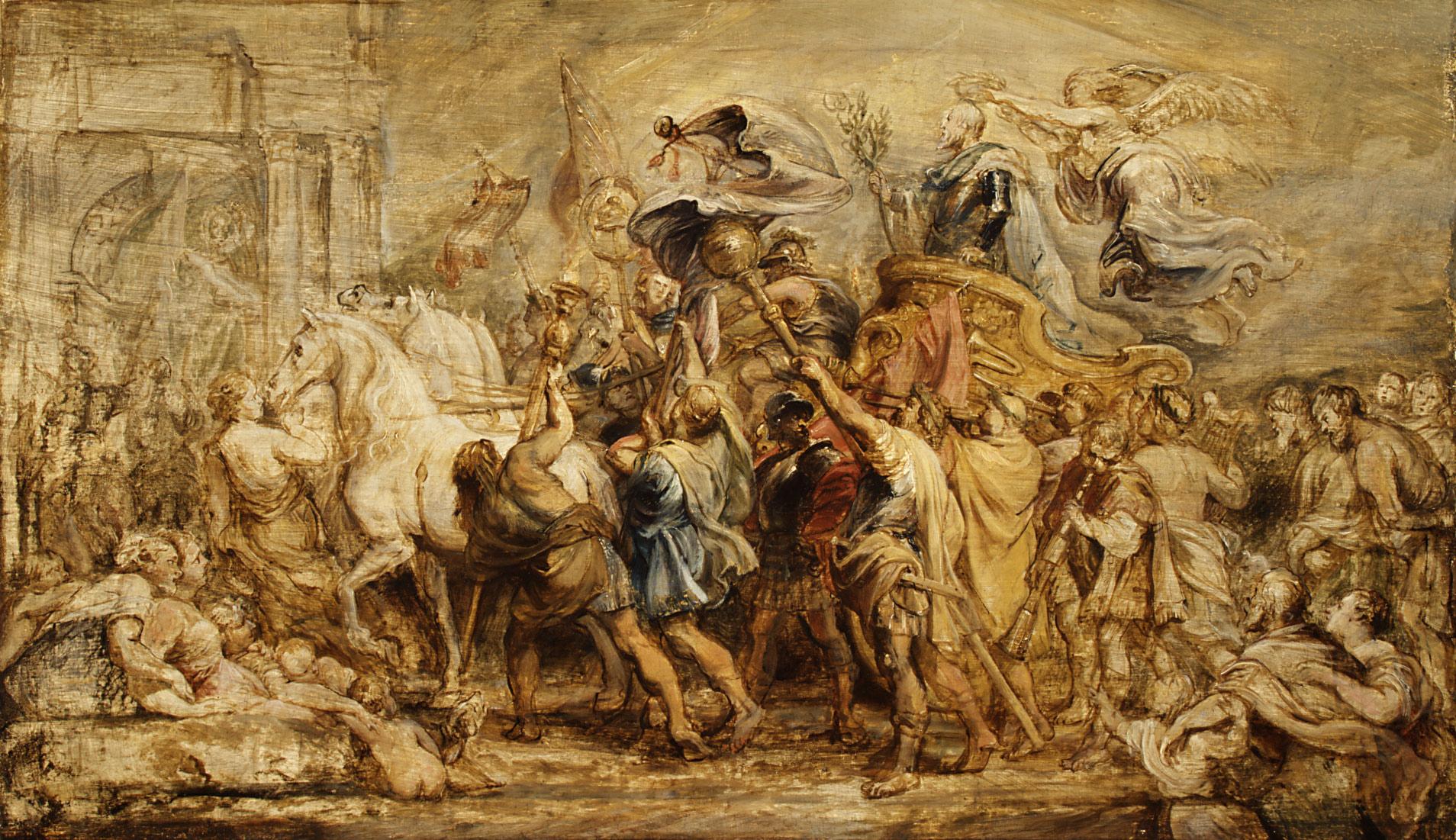 Triumph of Henry IV, Rubens