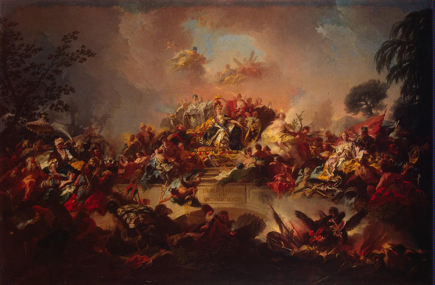 Apotheosis of the Reign of Catherine II, Guglielmi Gregorio
