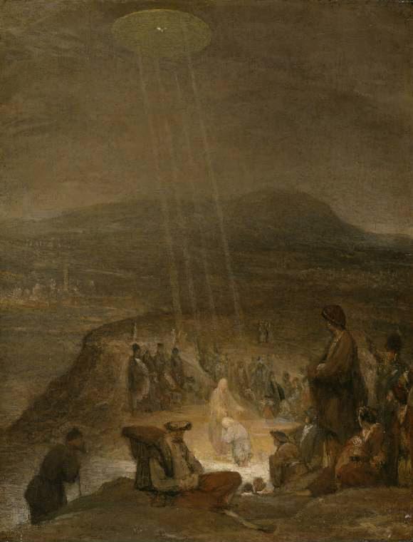 Baptism of Christ, Aert De Gelder