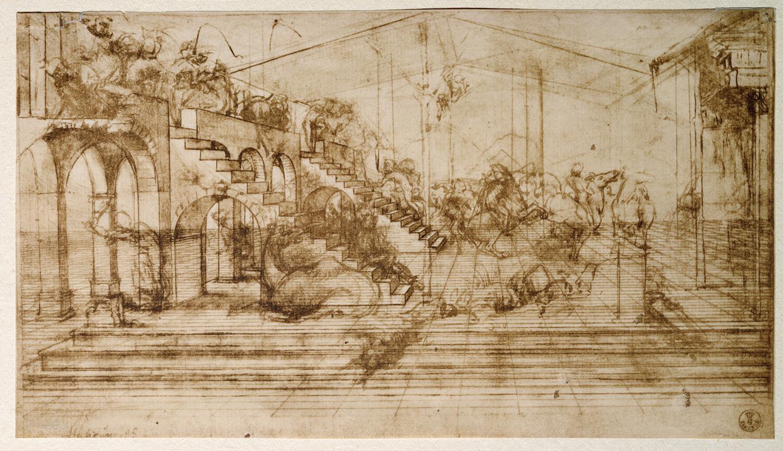 Collage of Various Studies, da Vinci