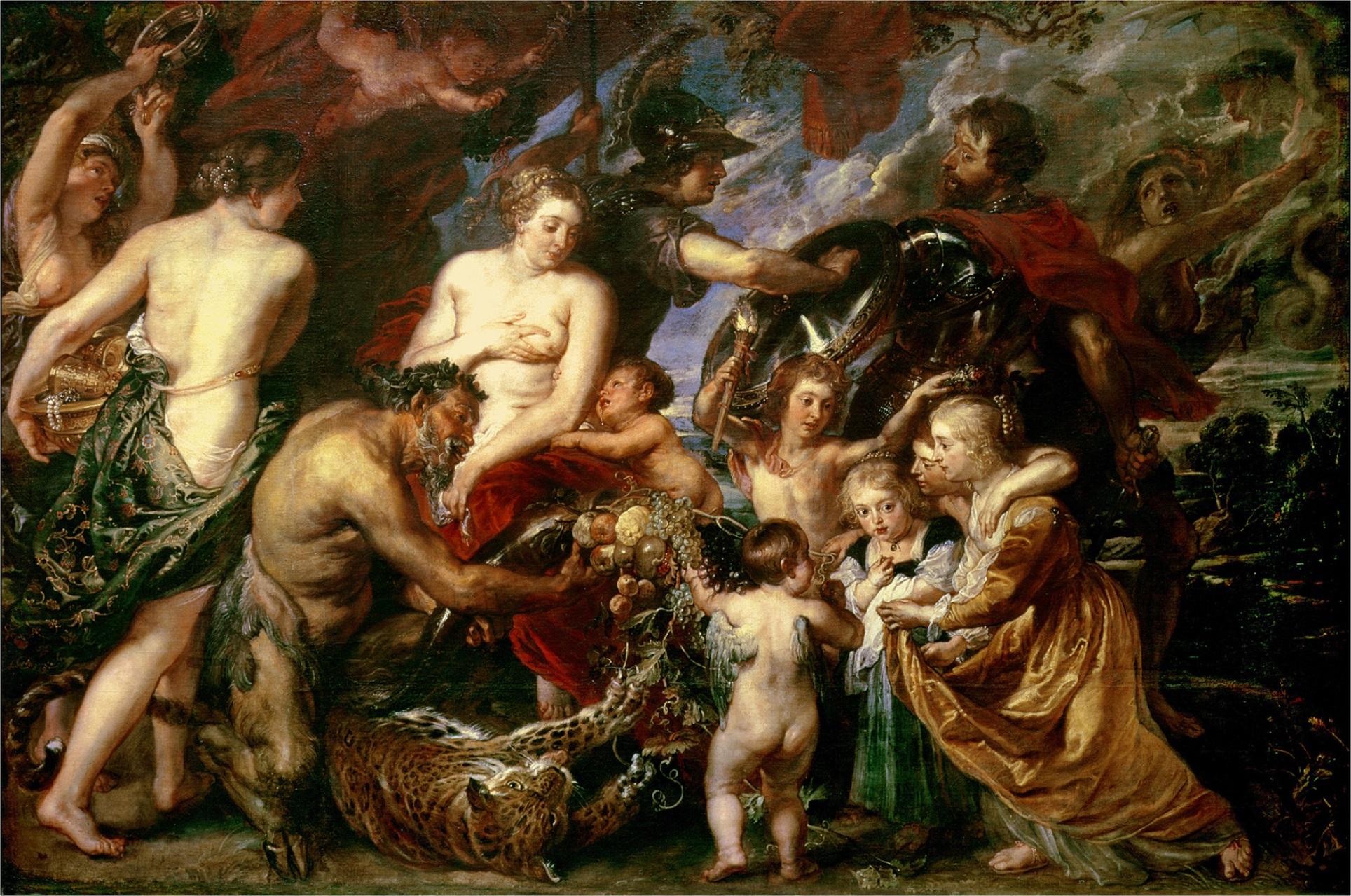 Peace and War, Rubens