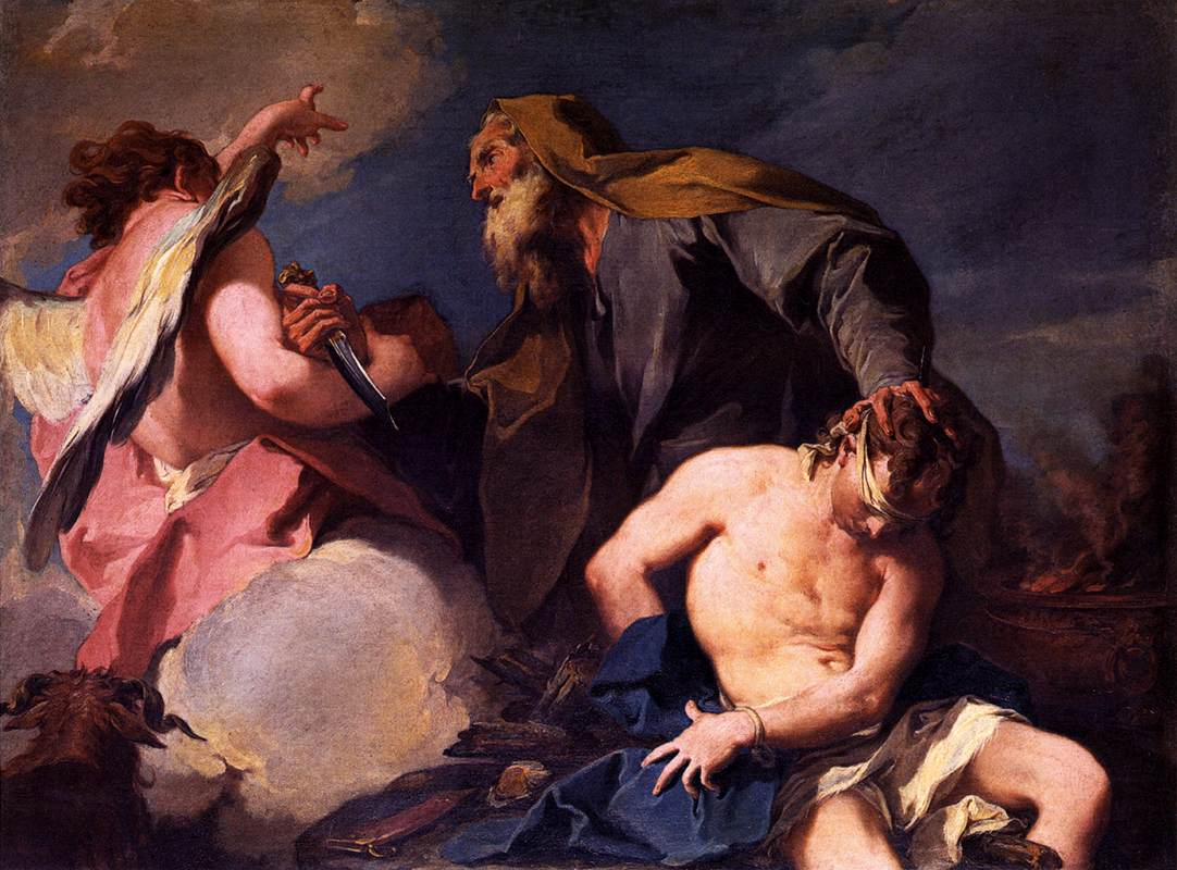 Sacrifice of Isaac, Giovanni Battista Pittoni
