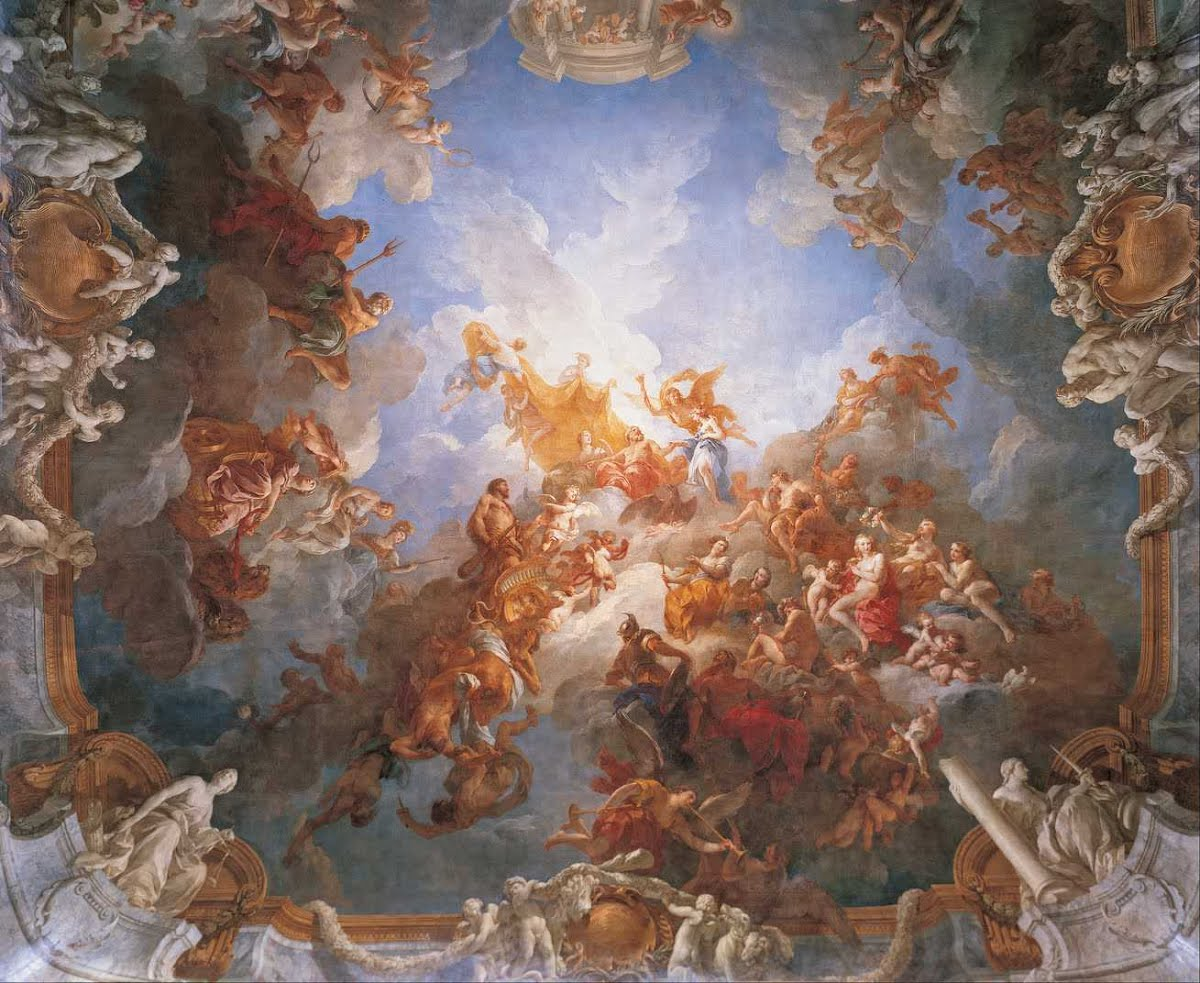 The Apotheosis of Hercules, François Lemoyne