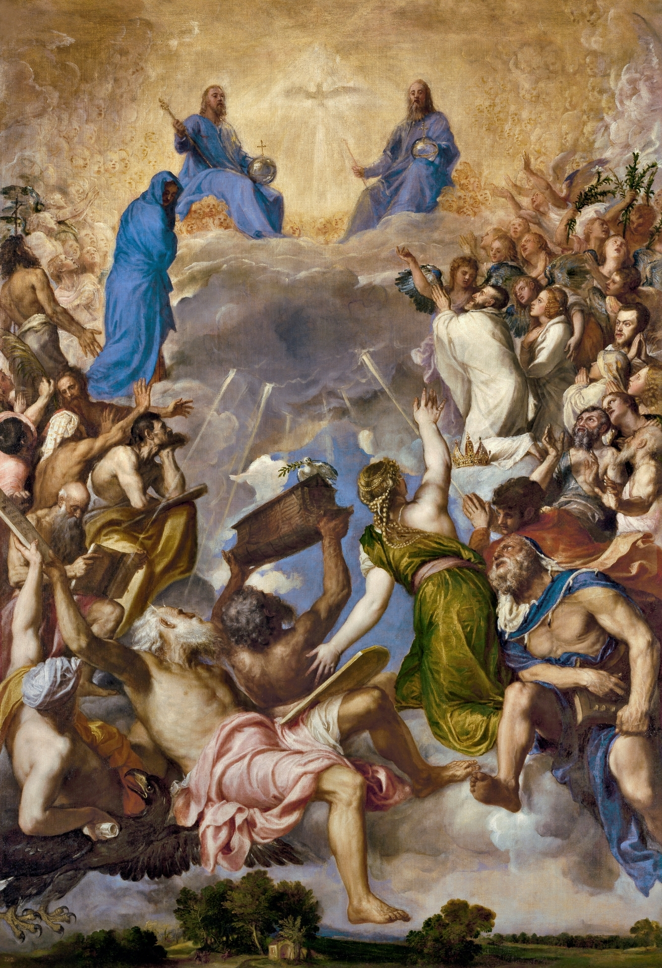 The Glory, Titian