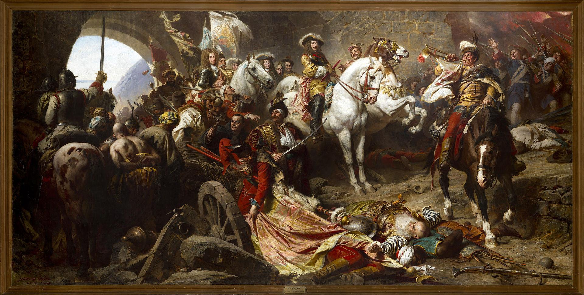 The Siege of Buda, Benczúr Gyula