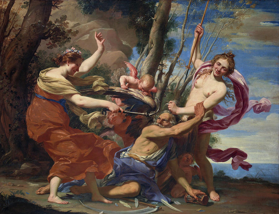 Time Defeated By Hope And Beauty, Simon Vouet