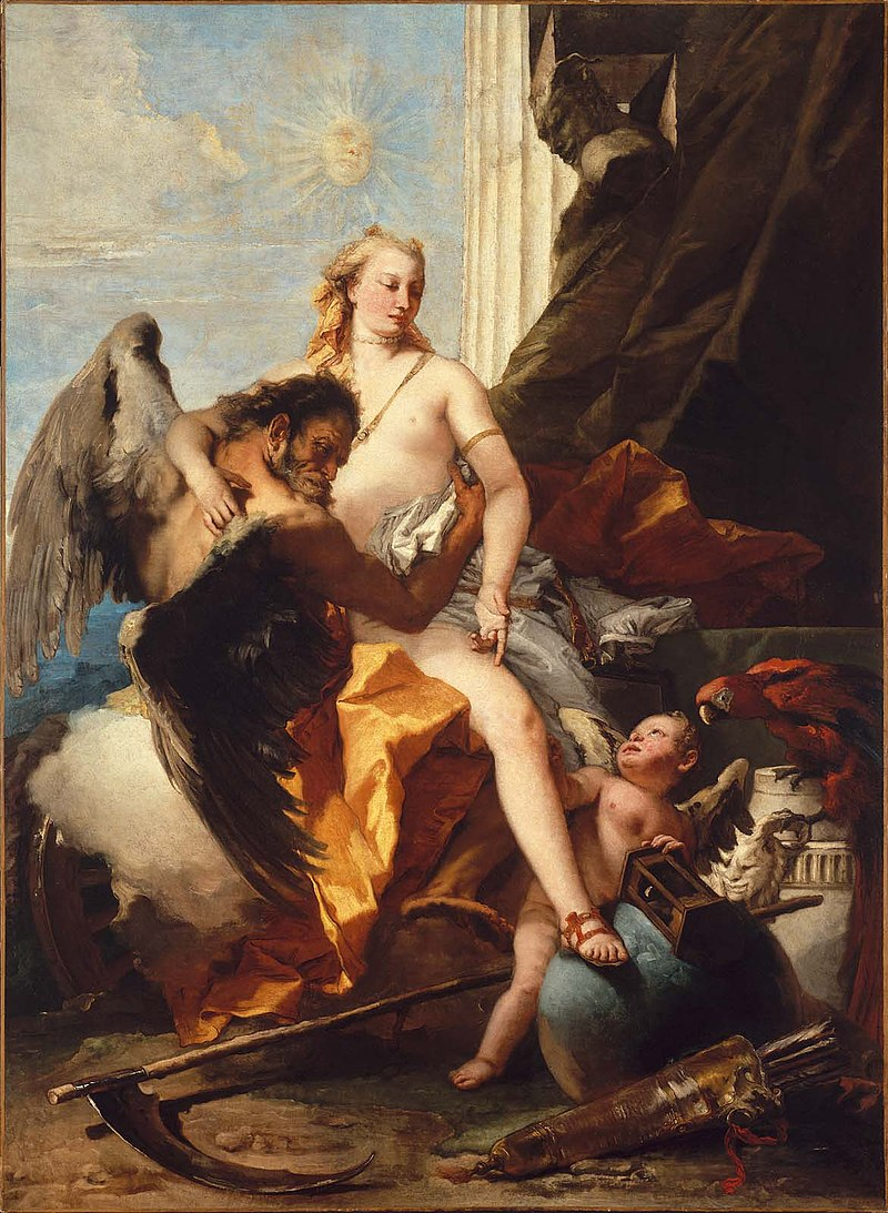 Time Unveiling Truth, Giovanni Battista Tiepolo