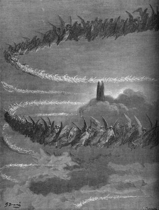 Skywriting In Jupiter, Gustave Dore