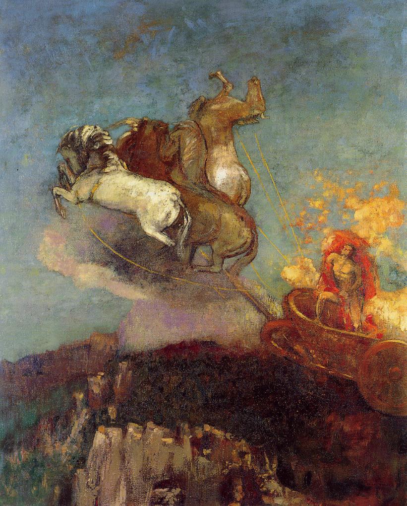 The Chariot of Apollo, Odilon Redon