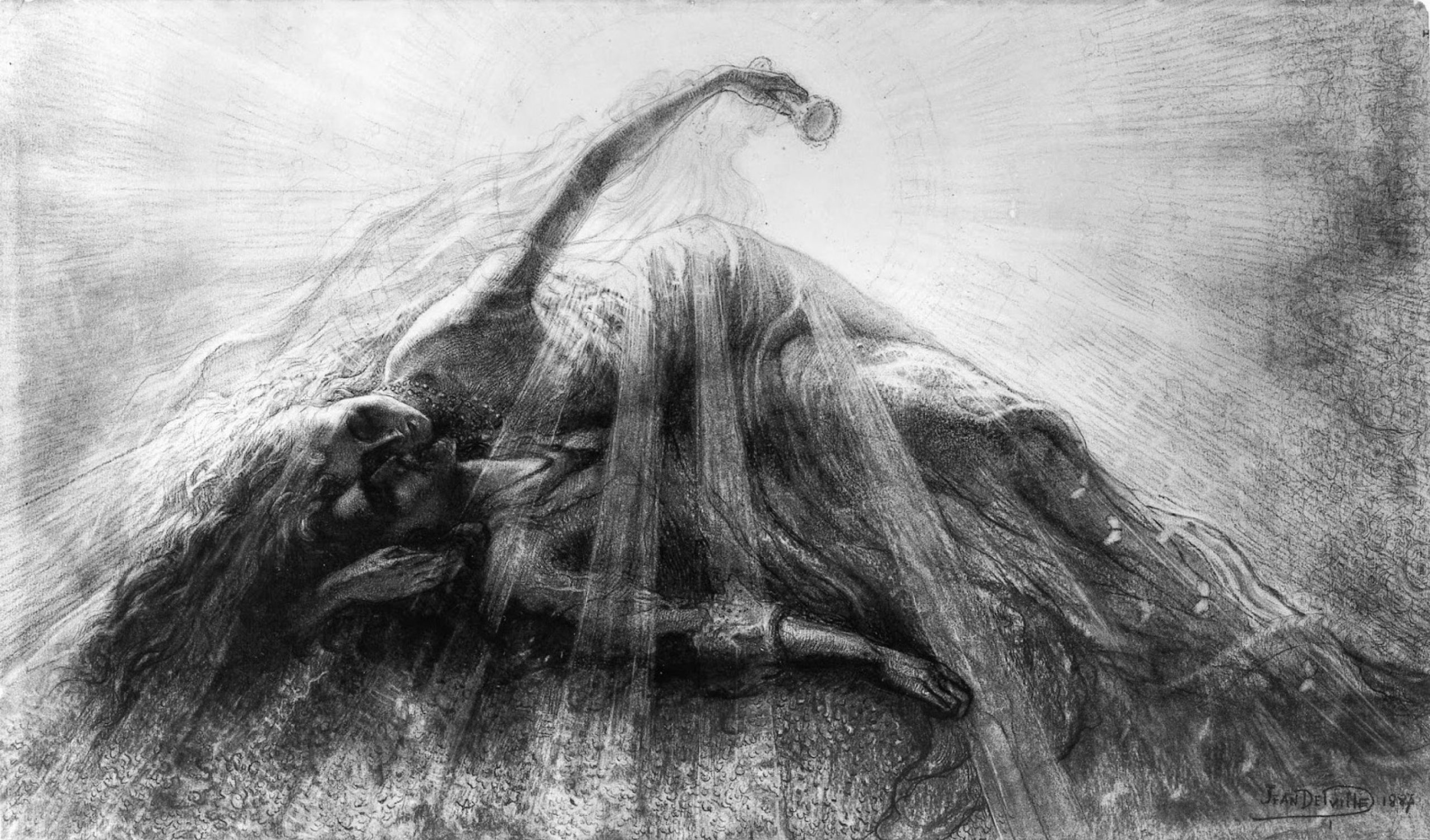 Tristan and Isolde, Jean Delville
