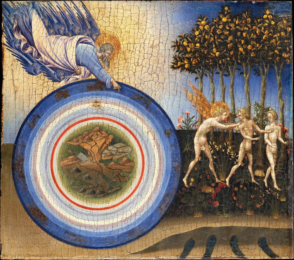 Creation of the World, Giovanni di Paolo