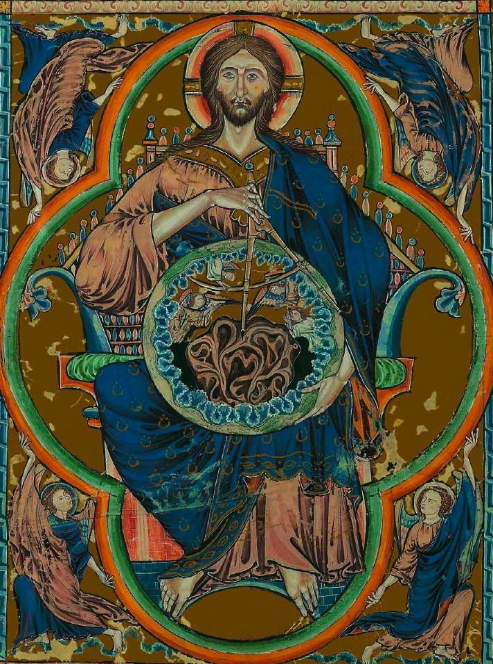 God Geometer, Byzantine Icon