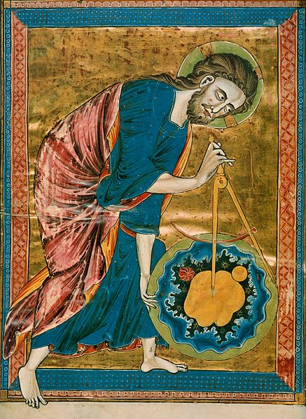 God the Geometer, Icon