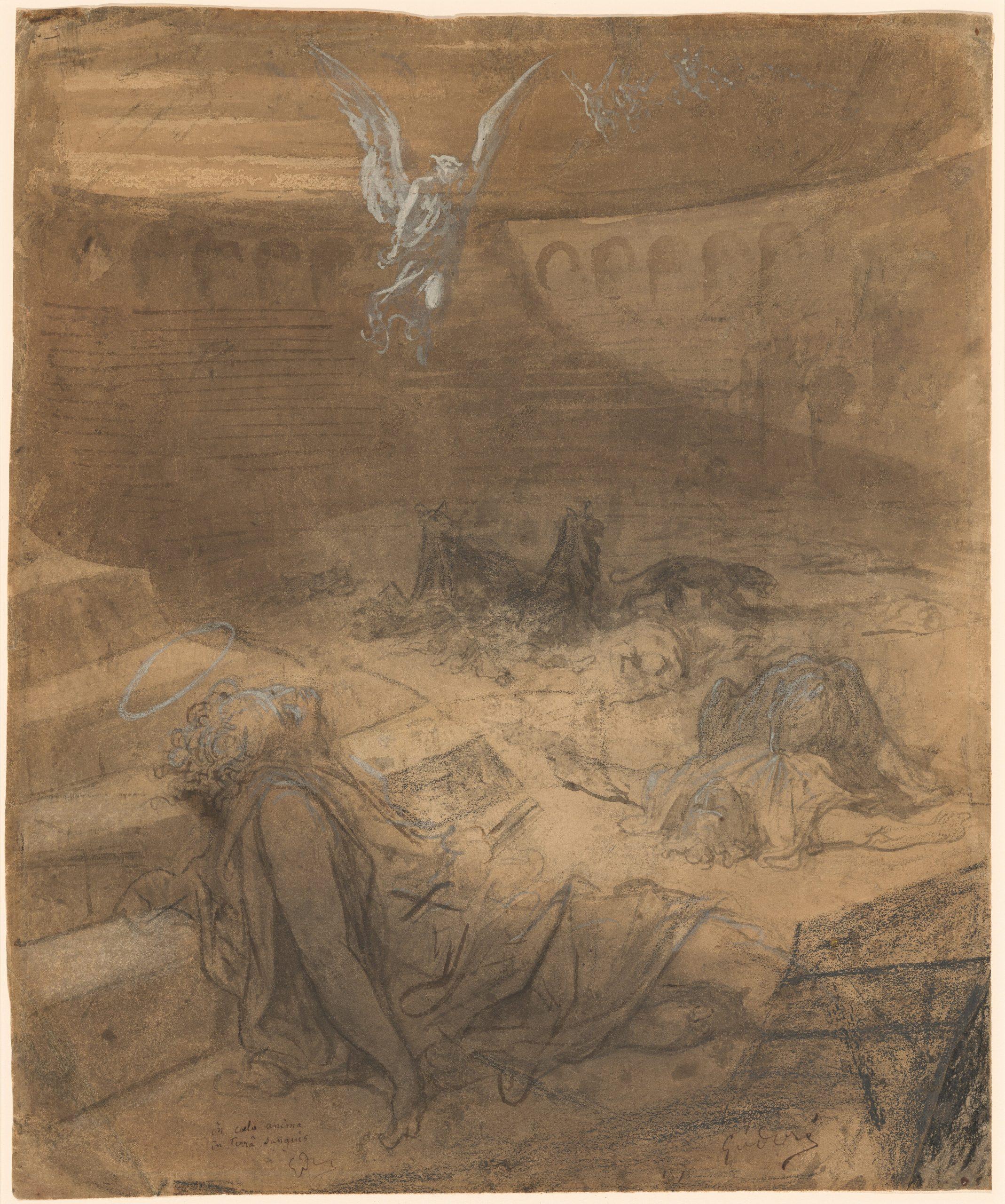 Les Martyrs Chrétiens, Gustave Doré