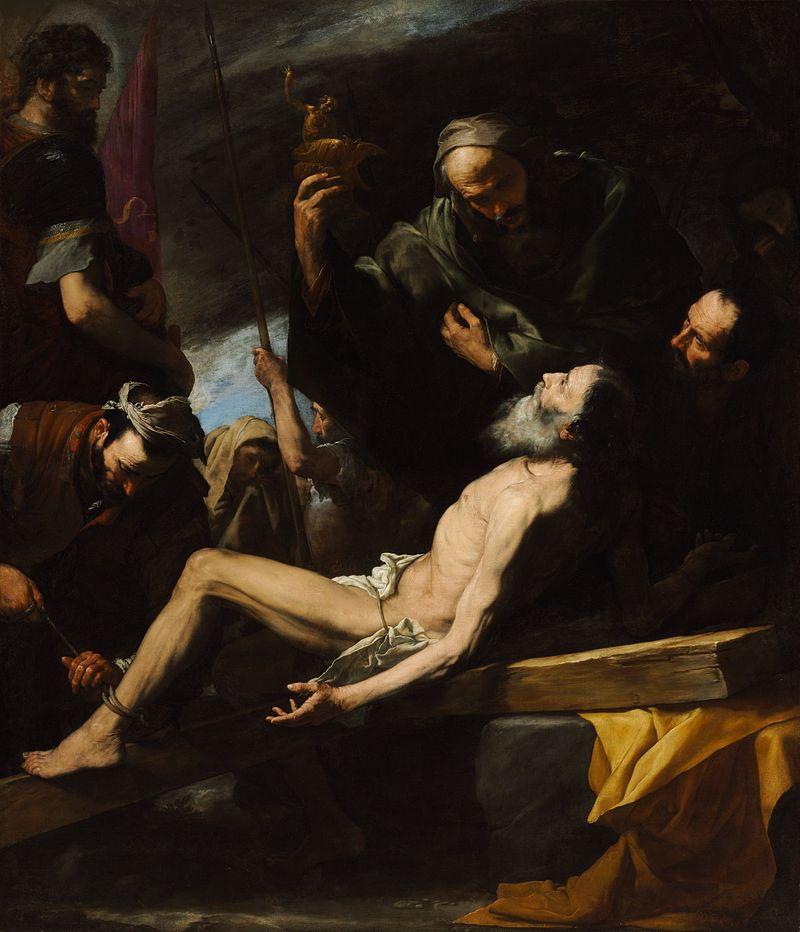 Martyrdom of St Andrew, Jusepe de Ribera
