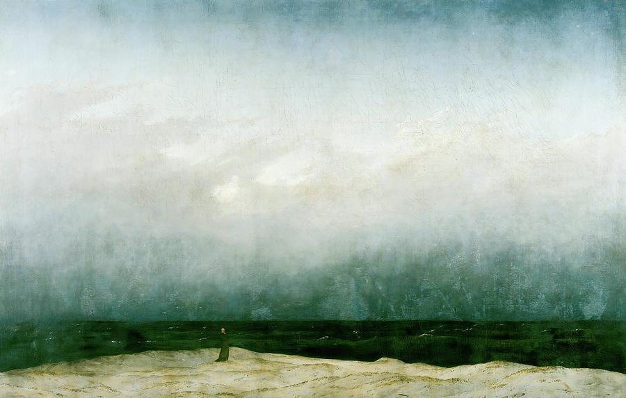 The Monk by the Sea, Caspar David Friedrich
